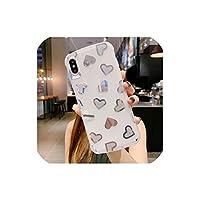 Iphone 5 6 6 s 7 8プラスX Xr Xs最大カバー素敵なソフトTpuケースのための携帯電話シェルクールバックカバー、iphone X、T4シルバー用