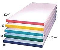 アズワン α別注カラーベルトまな板(短辺片辺)紺 800x400xH20/62-8202-76