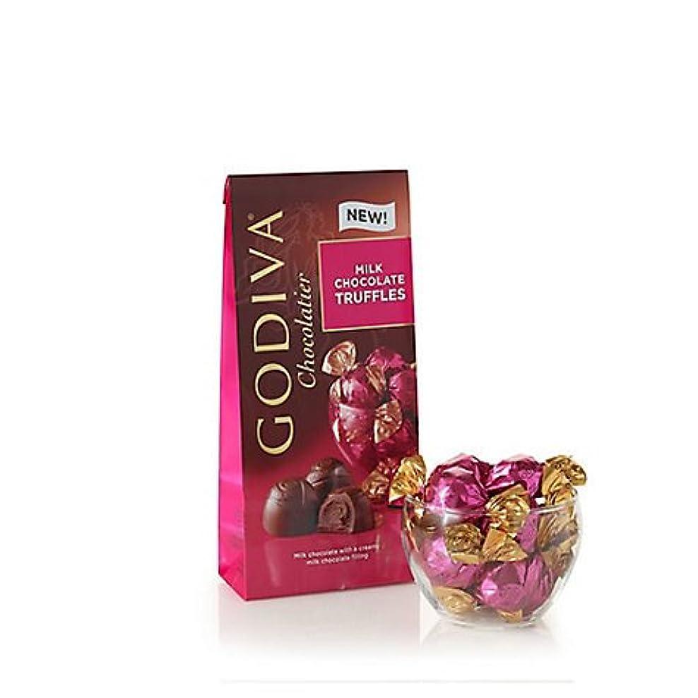 区別神秘的な集団的Godiva Milk Chocolate Truffles, Wrapped 7oz ゴディバ トリュフ ミルクチョコレート 198g [並行輸入品]