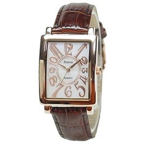 [フォーエバー]Forever 腕時計 1Pダイヤ FG-330PGWH メンズ