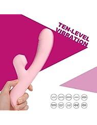クラランス ボディ 人気 バイブレーター 加熱機能 潮吹き 女性 Gスポット 女性マッサージ器 アダルトグッズ (ピンク色)