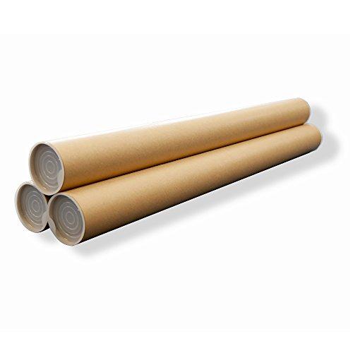 ボックスバンク 紙管 紙筒 丸筒 (B2) ポスター・カレンダー収納用 3本セット SS11-0003