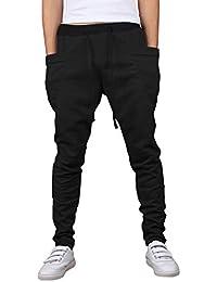 SHEYA メンズ スウェット パンツ スリム スキニー スウエット無地 大きいサイズ 8色展開
