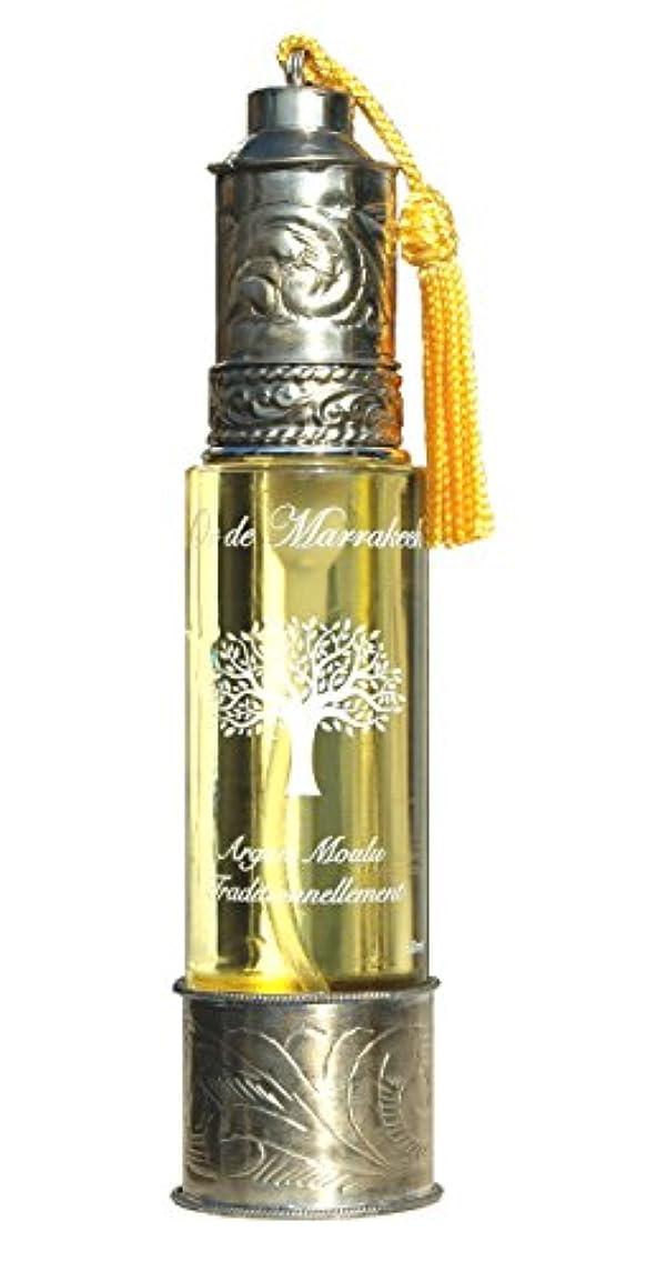 効率的に乱雑な三角形「マラケシュの黄金」オーガニック アルガンオイル 60ml(モロッコ製)