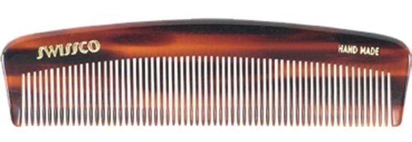 剥離名義で興味Swissco Tortoise Pocket Comb [並行輸入品]