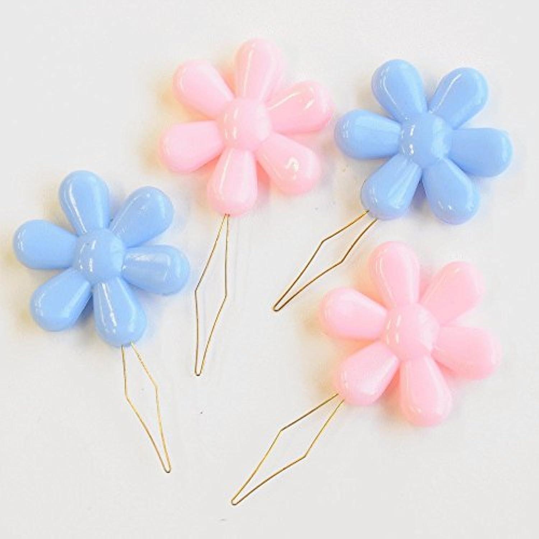 お花の糸通し 2色各2個入り