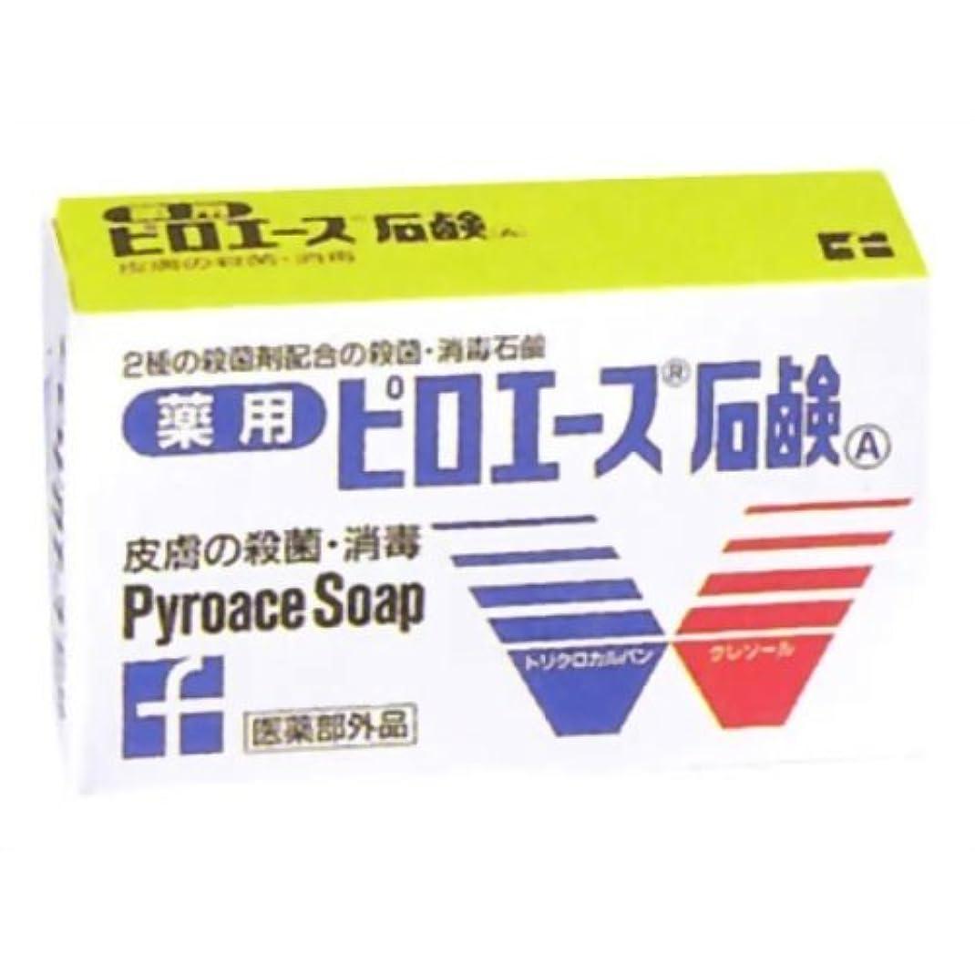 お肉面白い主張する【第一三共ヘルスケア】ピロエース石鹸 70g