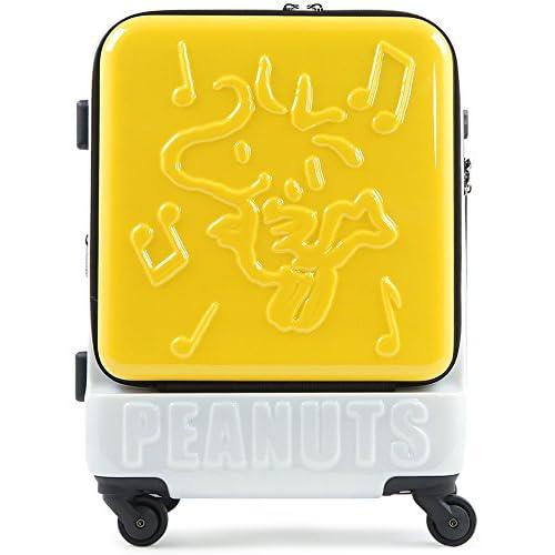 (ピーナッツ)peanuts スヌーピー SNOOPY キャリーケース PN-001 47cm YELLOW-WS