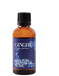 Mystic Moments | Ginger Essential Oil - 50ml - 100% Pure