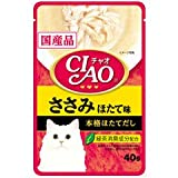 CIAOパウチ ささみ ほたて味 40g【単品】
