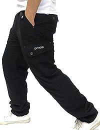 [アウトドアプロダクツ] パンツ メンズ ロングパンツ ミリタリー イージーパンツ 裏フリース 暖パン