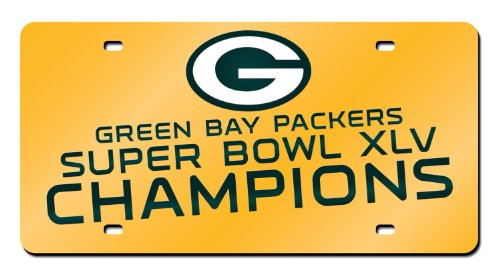 グリーンベイパッカーズリーボックゴールドSuper Bowl...