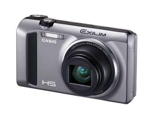 CASIO EXILIM デジタルカメラ ハイスピード 1610万画素 広角24mm 光学12.5倍ズーム シルバーEX-ZR400SR
