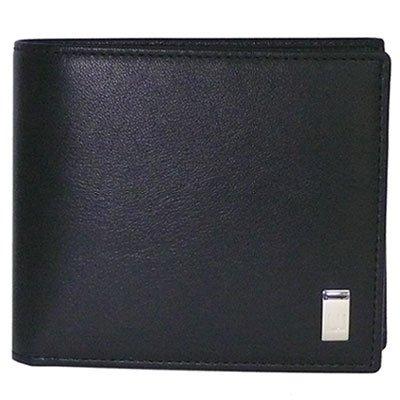 DUNHILL 【ダンヒル】 二つ折り財布 QD3070A SIDECAR ブラック