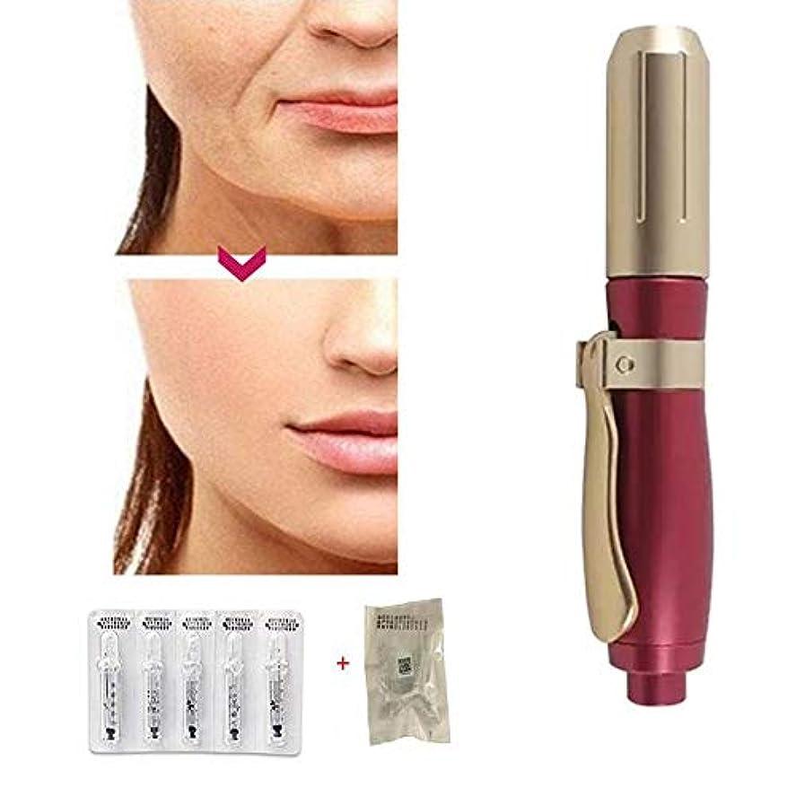 インク本体引く5本のアンプルの頭部が付いている1Taking薬の針の美用具とのHyaluronの注入のペン、深い補充および豊富な栄養物、復元の皮の弾力性、