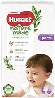 Huggies Platinum Naturemade Pants L 44s
