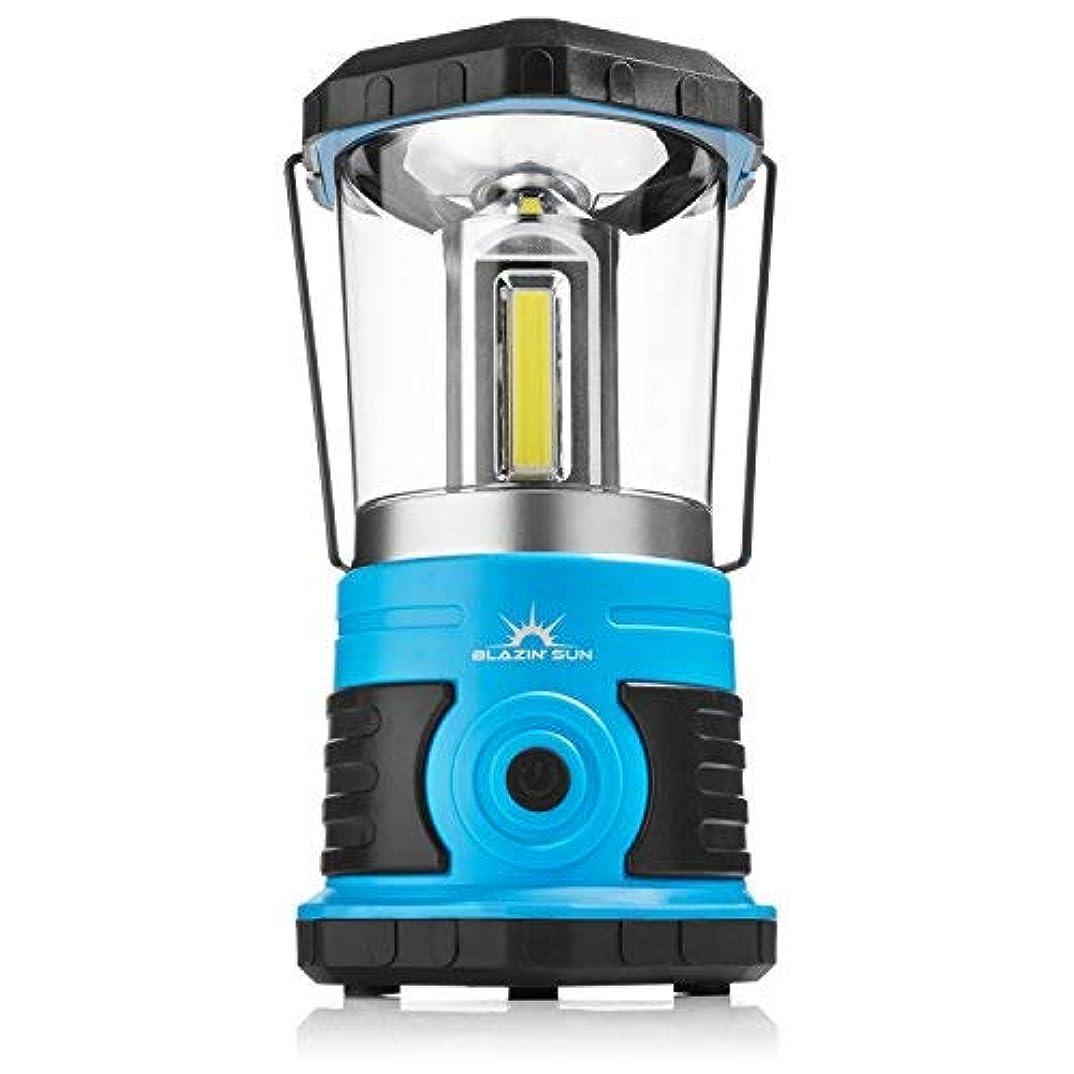 説教火山学者公爵夫人Blazin' Sun 800 | Brightest Lanterns Battery Powered LED Camping and Emergency | Hurricane, Storm and Power Outages (Blue) [並行輸入品]