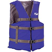 StearnsクラシックシリーズAdult Universal Life Vest – ブルー
