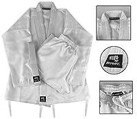 Zephyr 格闘技 K-Tech パフォーマンス 空手 柔術 学生服 ベルト - ホワイト - 0 000