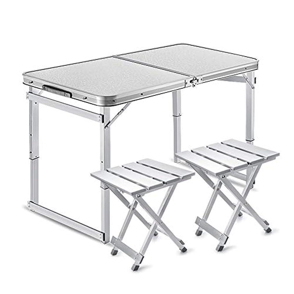 NJLC折りたたみ式テーブル、屋外の屋台テーブル折りたたみ小さなテーブルホームポータブルシンプル折りたたみテーブル,White