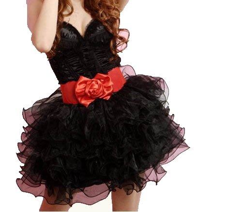 [Cos RuRu] six-layer petticoat (black) adult accessory CR1185