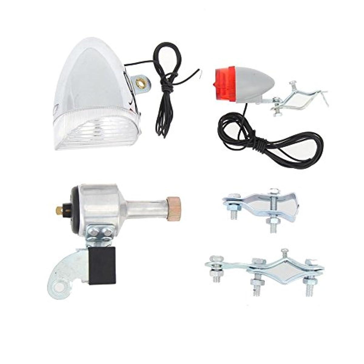 孤独な息を切らしてペイントK-outdoor ヘッドライト テールライト セット 自転車ランプ 懐中電灯 アウトドア 警告灯 装飾ランプ
