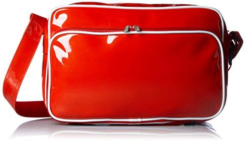 [プリントスター]バッグ カラ― エナメル バッグ 00773-CEB レッド Mサイズ