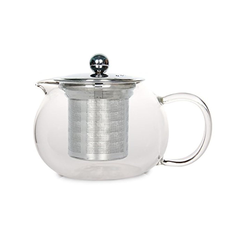 ミルク常に作曲するbouti1583 600 mlガラスティーポットwith Stainless Steel Infuser forホームレストランホテルビジネス 600ML 15838290SC0038-02