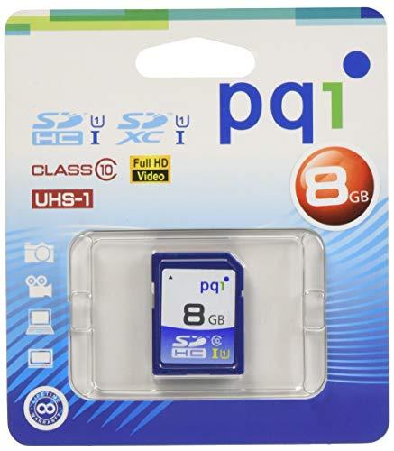 PQI Japan PQI-UHS-Iメモリカード SDHCカード (UHS-I / CLASS10 / 8GB) SD10U11-8