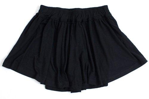 (ナドゥー) nadoo ヨガウェア フィットネス ダンス ジャージ ギャザー キュロット パンツ 521 (ブラック)