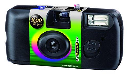 FUJIFILM レンズ付フイルム フジカラー 写ルンです 1600 Hi-...