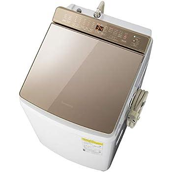 パナソニック 9kg 洗濯乾燥機 泡洗浄 ブラウン NA-FW90K7-T