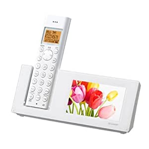 シャープ デジタルコードレス電話機 親機のみ ホワイト系 JD-4C1CL-W