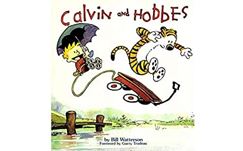 Hobbes: Collection Book 1 - FECE-5136 - Great Calvin Adventure And Hobbes Cartoon Comics Books -  For Kids, Boys , Girls , Fans , Adults (English Edition)