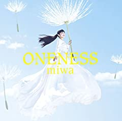 miwa「ONENESS」のCDジャケット