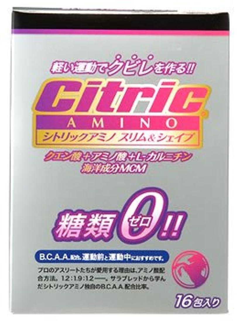 お香雑多なロデオメダリスト?ジャパン シトリックアミノ スリム&シェイプ ベーシックJP (6g×16包入) クエン酸 アミノ酸 糖類ゼロ