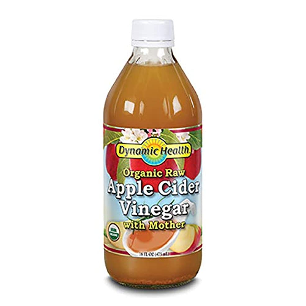 カートアーカイブ評価するDynamic Health Organic Raw Apple Cider Vinegar With Mother  16 oz (473ml) [並行輸入品]