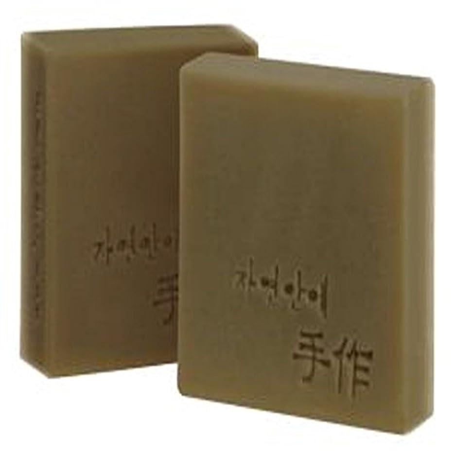 勇敢な不適切なほかにNatural organic 有機天然ソープ 固形 無添加 洗顔せっけんクレンジング 石鹸 [並行輸入品] (カボチャ)