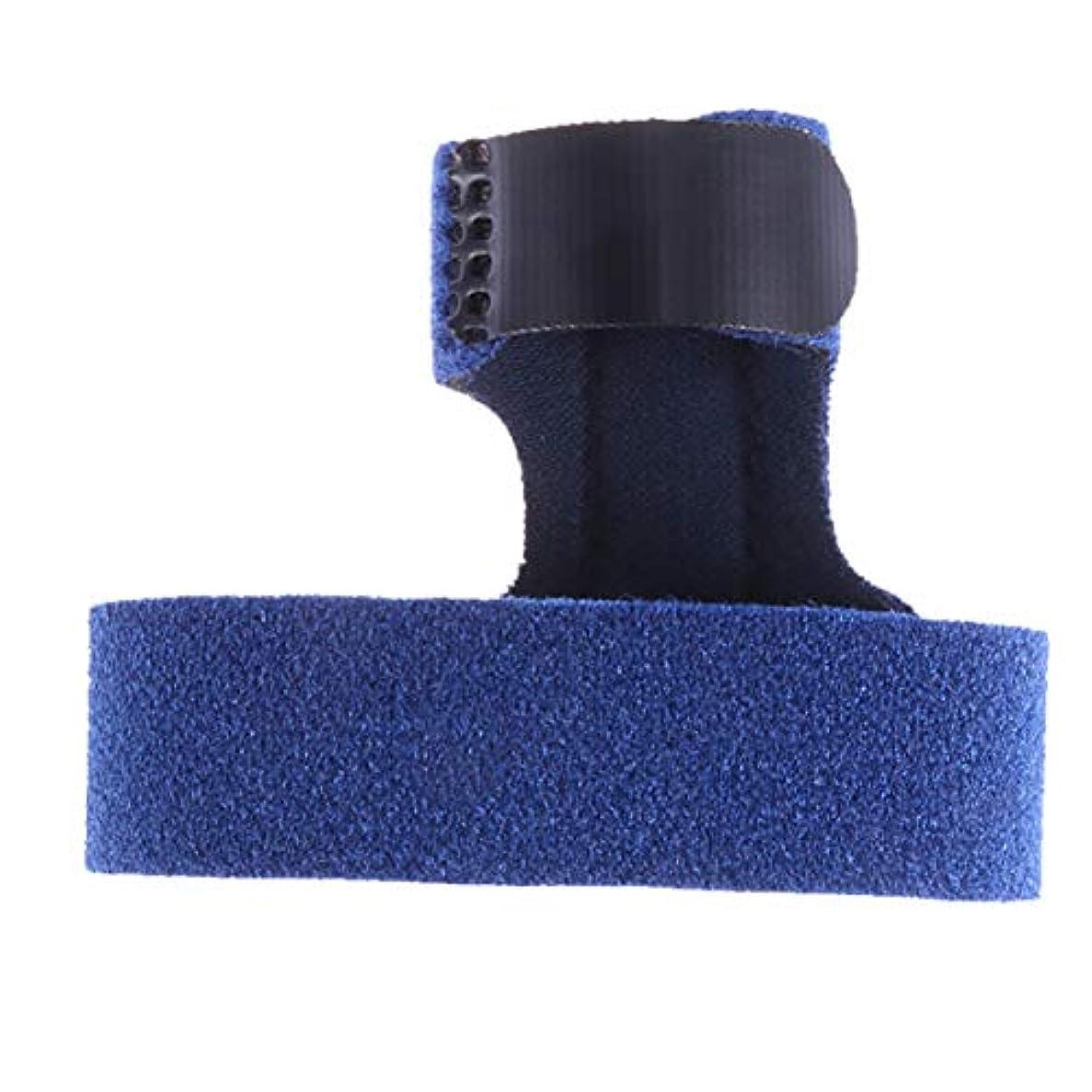 威する割り込みくつろぐSUPVOX フィンガーエクステンションスプリントサポートベルトブレースの痛み緩和のための男性女性フィンガープロテクター