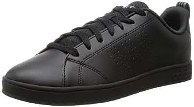 adidas(アディダス) スニーカー NEO ネオ VALCLEAN2 バルクリーン ローカット カジュアル シューズ 靴 メンズ レディース F99253-ブラック/ブラック 22.0cm valclean2-220F99253