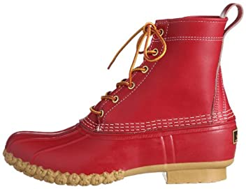 Bean Boots 8in 38-32-0030-593: Red
