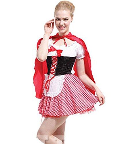 仮装 赤ずきん コスチューム ワンピース レディース 女性用 Halloween ハロウィン