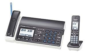 パナソニック デジタルコードレスFAX 子機1台付き 1.9GHz DECT準拠方式 ダークメタリック KX-PD552DL-H