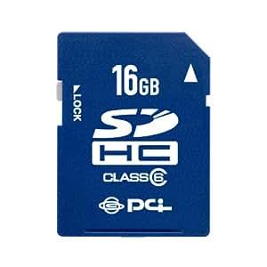 PLANEX ハイスピードClass6対応 SDHCカード16GB (トリスター携帯万能Lite/抹消プロダウンロード付) PL-SDHC16G