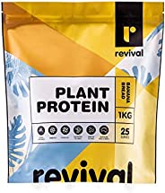 Revival Plant Protein (Vegan) | 100% Natural ingredients | Pre & Probiotics, 1KG, Banana Bread 1 kilog