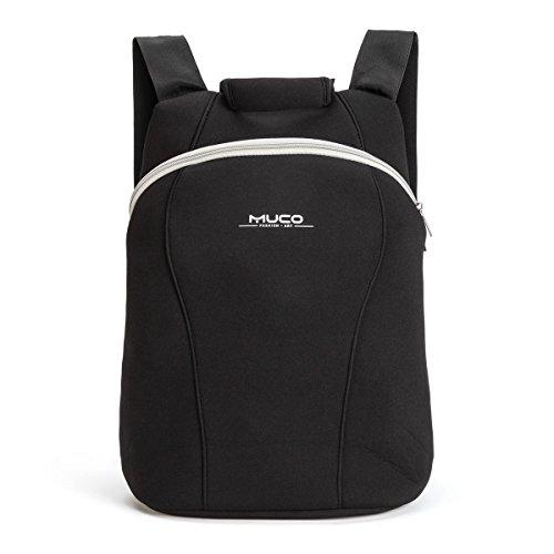 MUCO バッグ バックパック パソコン対応 リュック 防水 ネオプレン 耐衝撃性 シンプル 軽量