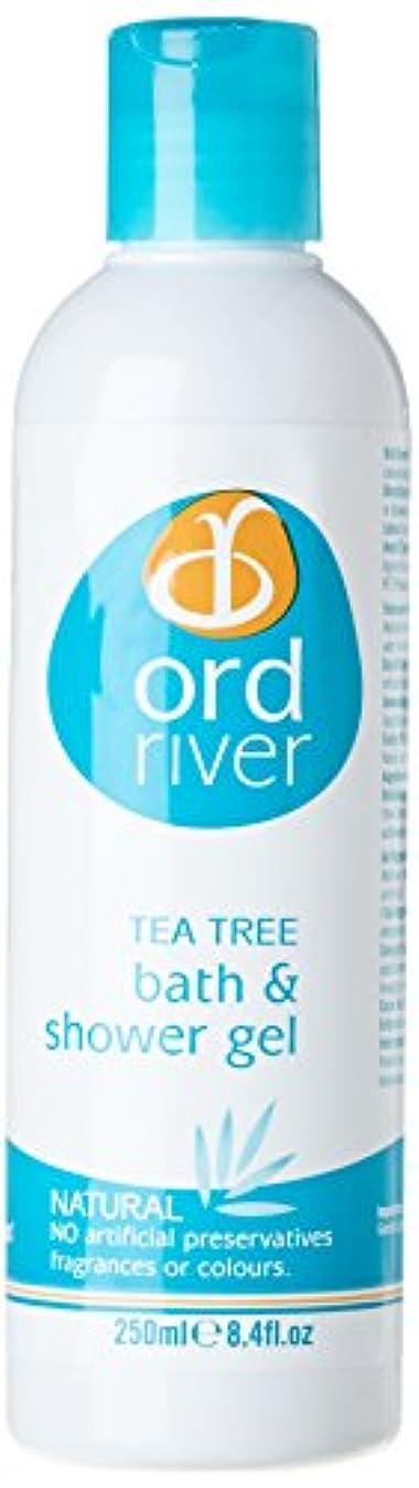 領事館食物仕事に行くOrd River Tea Tree Bath and Shower Gel