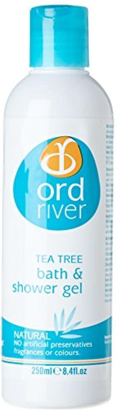 ぐったりアフリカ拒絶Ord River Tea Tree Bath and Shower Gel