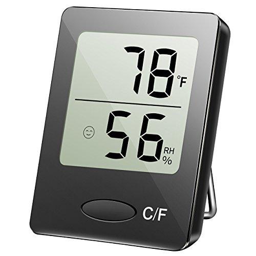 Habor湿度計温度計デジタルインドアアウトドア湿度モニター...