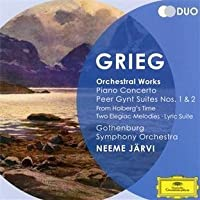 Piano Concerto Op.16/Peer Gynt Suites Nos. by JARVI / GOTHENBURG SYM ORCH (2012-03-29)